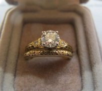 Van Craeynest Engagement Set .74 Ring