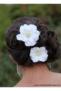 Bridal Hair Flower Accessory