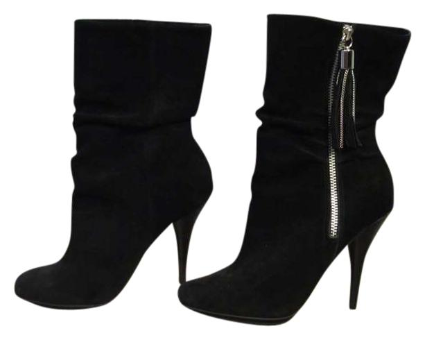 michael kors black suede boots size 7 5 66 tradesy