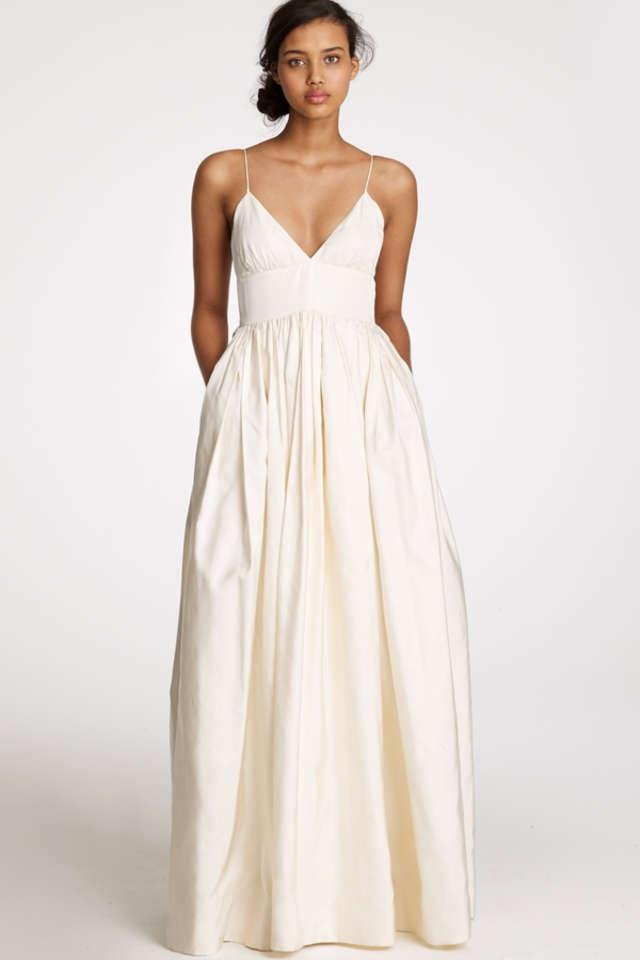 J Crew Principessa Wedding Dress Tradesy Weddings