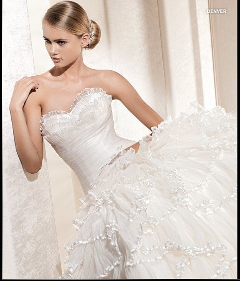 Le spose di gi la sposa wedding dress tradesy weddings for Di gio wedding dress prices