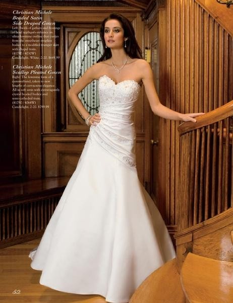 Christian michele wedding dresses group usa flower girl for Wedding dress resale st louis