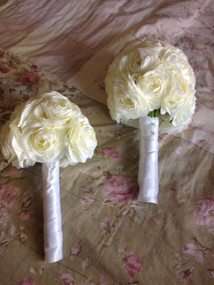11pc White And Yellow Silk Wedding Flower Package Tradesy Weddings