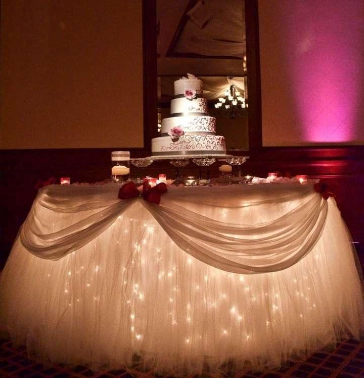 Cake Table Decor. Tulle Package Tradesy Weddings