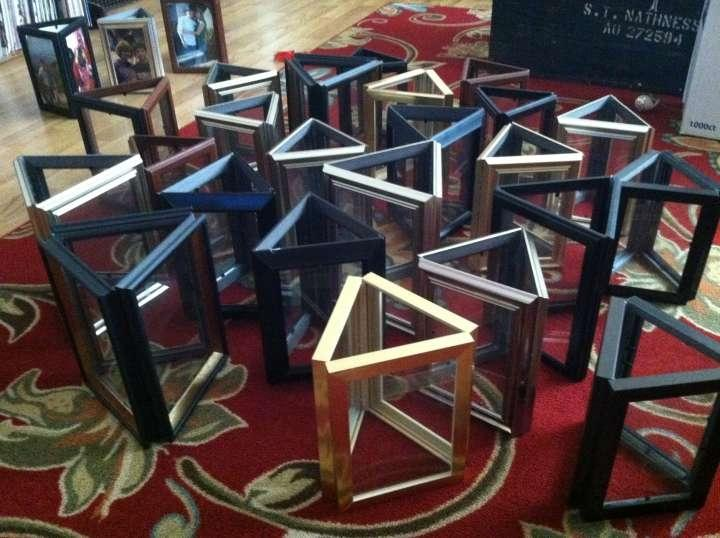 Picture Frame Vase Centerpiece : Picture frame centerpieces tradesy weddings