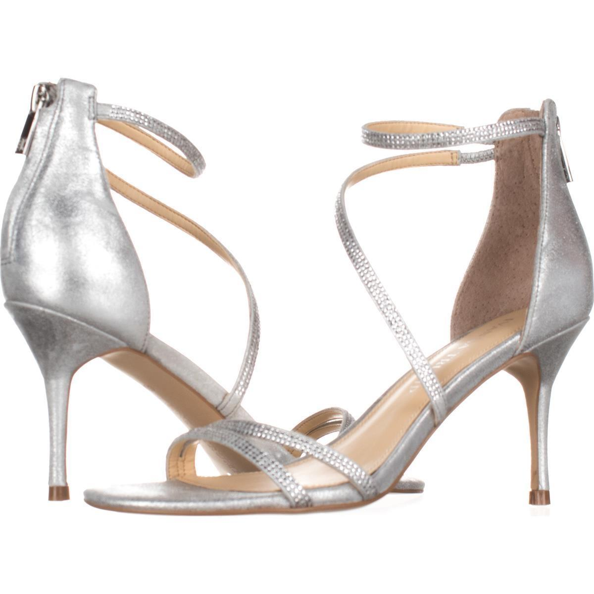 Ivanka Trump Silver Pumps