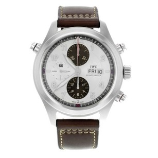 IWC Iwc Spitfire Double Chronograph Iw371806 Stainless Steel Automatic Mens Watch