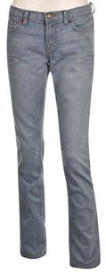 J Brand J Pencil Leg Womens Skinny Light Wash Cotton Casual Skinny Jeans