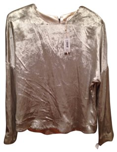 J Brand Top Silver/Pewter