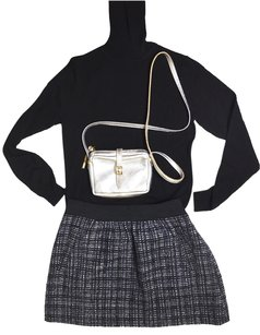J.Crew J Crew Boucle Boucle Mini Skirt Black Tweed