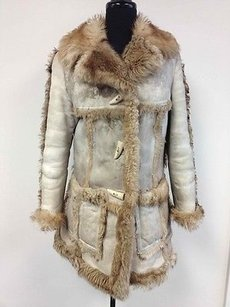 J. Jill Jj Sheepskin Author Coat