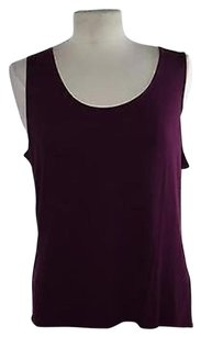 J. Jill J Womens Solid Top Purple