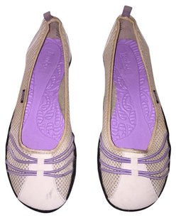 Jambu Purple and Beige Flats