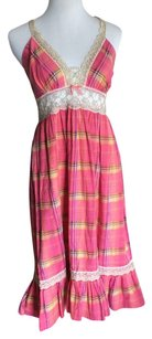 Pink Maxi Dress by James Coviello