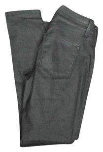 James Jeans James Black Stretchy Solid James Twiggy Cotton 4706a Skinny Jeans