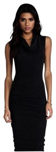 Black Maxi Dress by James Perse Jersey Tank