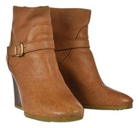J.Crew Ankle Tan Boots