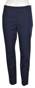 J.Crew Ciry Fit Womens Navy Cropped Trousers Career Capri/Cropped Pants Blue