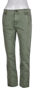 J.Crew Womens Olive Casual Straight Jeans Trousers Pants