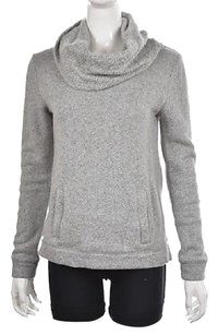 J.Crew Womens White Cowl Neck Cotton Long Sleeve Sweater