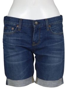 J.Crew J Crew Womens Denim Cut Off Shorts Blue