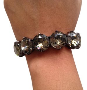 J.Crew Factory stretch large crystal bracelet