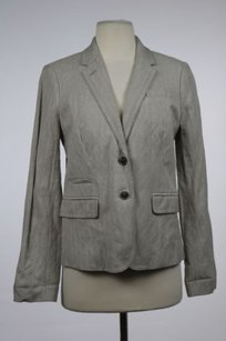 J.Crew J Crew Schoolboy Womens Gray Blazer Long Sleeve Wtw Career Jacket