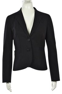 J.Crew J Crew Womens Black Blazer Wool Long Sleeve Career Jacket Wtw