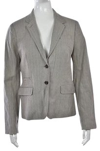 J.Crew J Crew Womens Gray Speckled Blazer Long Sleeve Career Jacket Wtw