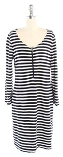 Navy & Cream Striped Maxi Dress by J.Crew