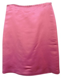 J.Crew Silk Mini Skirt Bubble Gum Pink