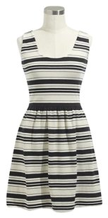 J.Crew short dress NAVY WHITE BLUE STRIPE 50449 Sleeveless on Tradesy
