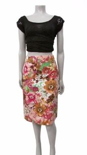 J.Crew Style 24085 Watercolor Floral Skirt Multi-Color