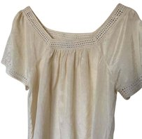 J.Crew Top Champagne