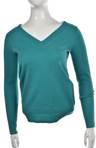 J.Crew J Crew Collection Womens Teal Sweater