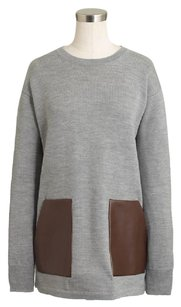 J.Crew Wool Faux Comfortable Tunic Sweater