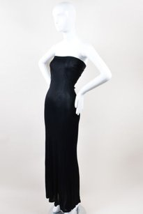 Black Maxi Dress by Jean-Paul Gaultier Jean Paul Femme
