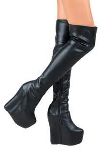 Jeffrey Campbell 5-5-10-5 5-5-5 5-5-6-5 5-5-7 Black Boots