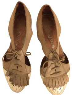 Jeffrey Campbell Cream Flats