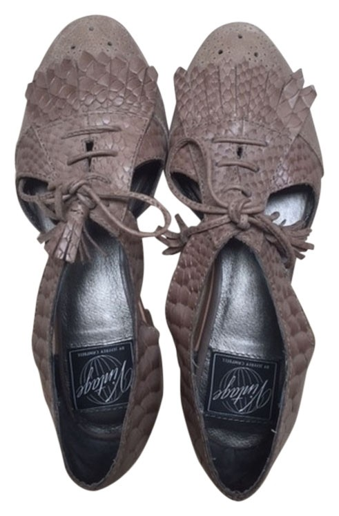 jeffrey campbell Gris  kelley oxford apparteHommes ts ordinaires ordinaires ts (taille 5 m, b) fcb14c