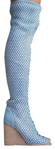 Jeffrey Campbell New15 Blue Boots