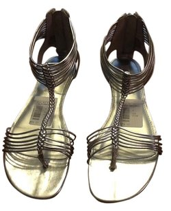 Jennifer Lopez Silver Sandals