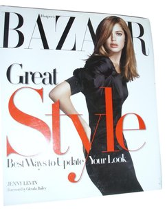 Jenny Levin Hardcover book Harper's Bazaar Great Style ways to update your look glam chic elegant basics lingerie
