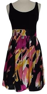 Jessica Howard Womens Black Dress