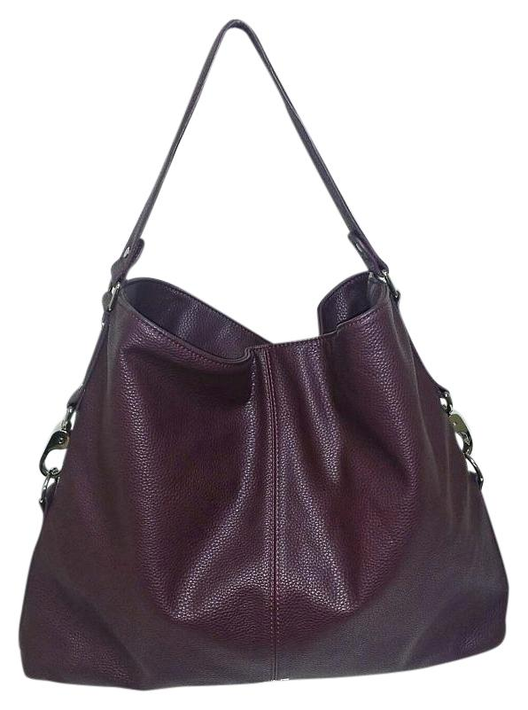 Burgundy Leather Shoulder Bag good - www.thewatersportsfarm.com