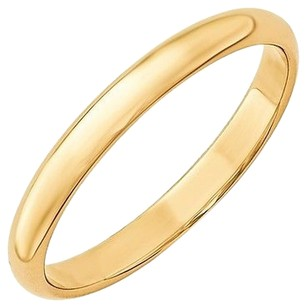 3mm,10k,Yellow,Gold,Comfort,Fit,Or,Half,Round,Wedding,Ring,Band,Size,5-13