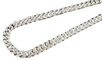 Other Genuine Diamond Miami Cuban Chain Ct. 10k Yellow Gold 6.25mm Inch Necklace