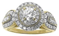 Jewelry Unlimited 14k,Yellow,Gold,Ladies,Round,Solitaire,Diamond,Engagement,Wedding,Ring,1.26,Ct