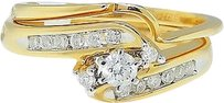 Jewelry Unlimited Ladies,14k,Yellow,Gold,Round,Cut,Engagement,Bridal,Solitiare,Diamond,Ring,.30,Ct