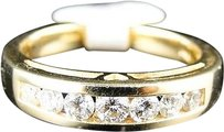 Jewelry Unlimited 14k,Ladies,Yellow,Gold,Round,Cut,Diamond,Wedding,Band,Fashion,Ring,12,Ct